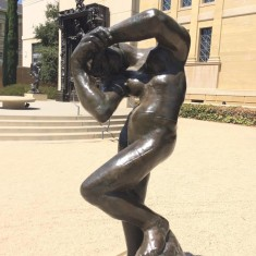 Meditation sculpture by Rodin. Found at the Rodin Sculpture at Stanford University